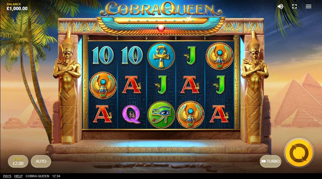 бесплатный слот Cobra Queen