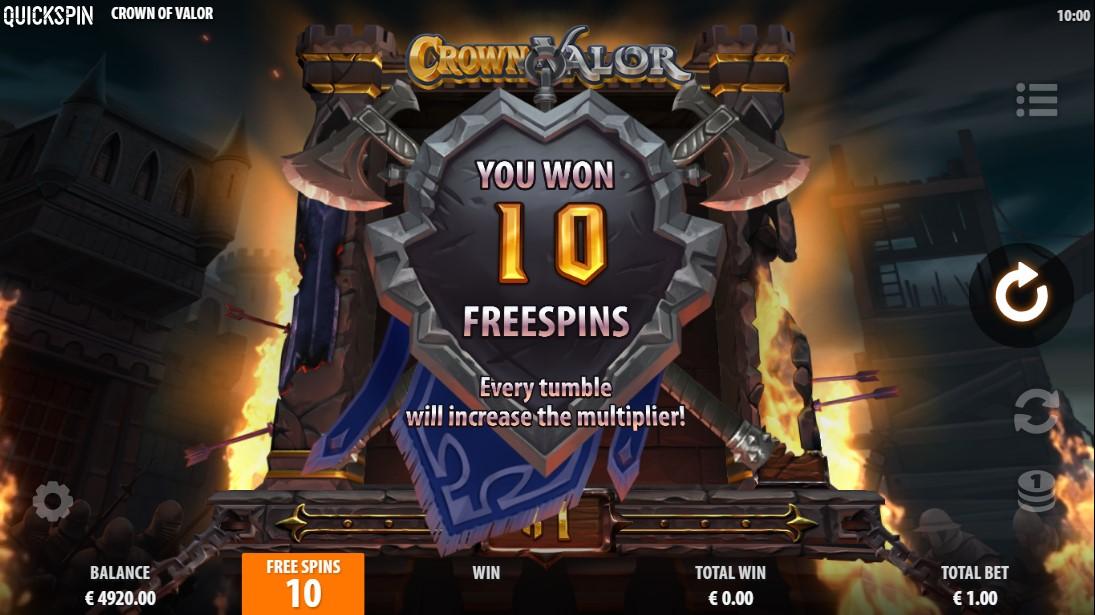 Crown of Valor игровой автомат