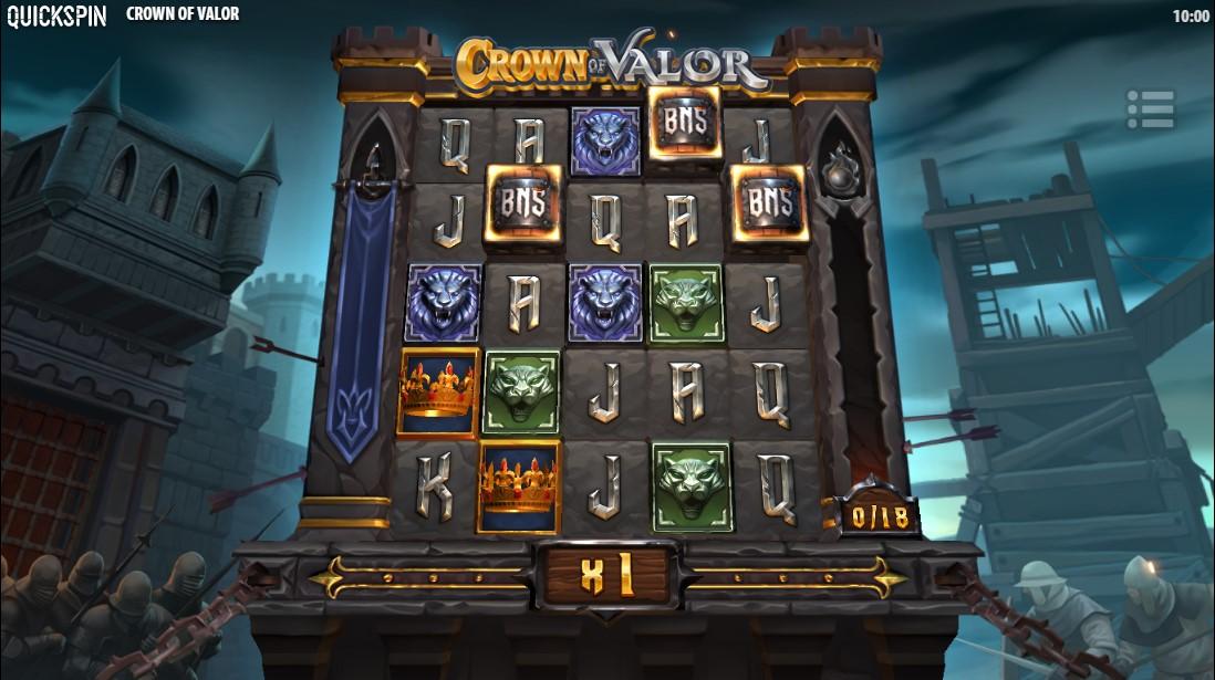 игровой автомат Crown of Valor
