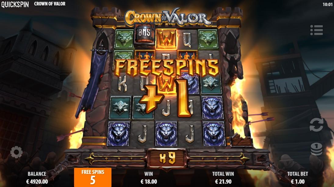 бесплатный слот Crown of Valor