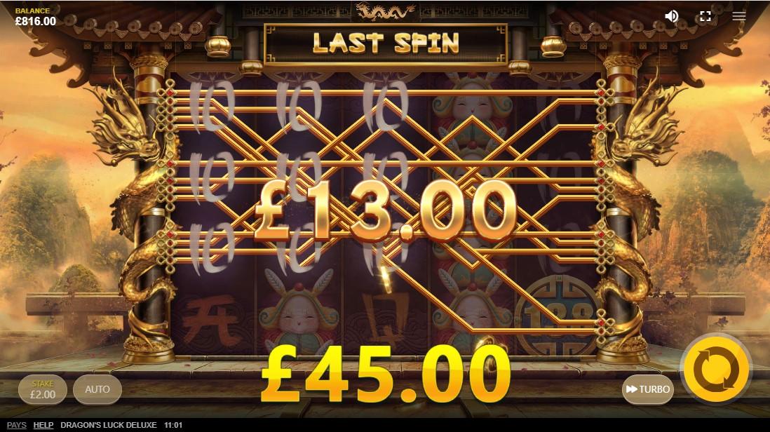 Dragon's Luck Deluxe игровой автомат