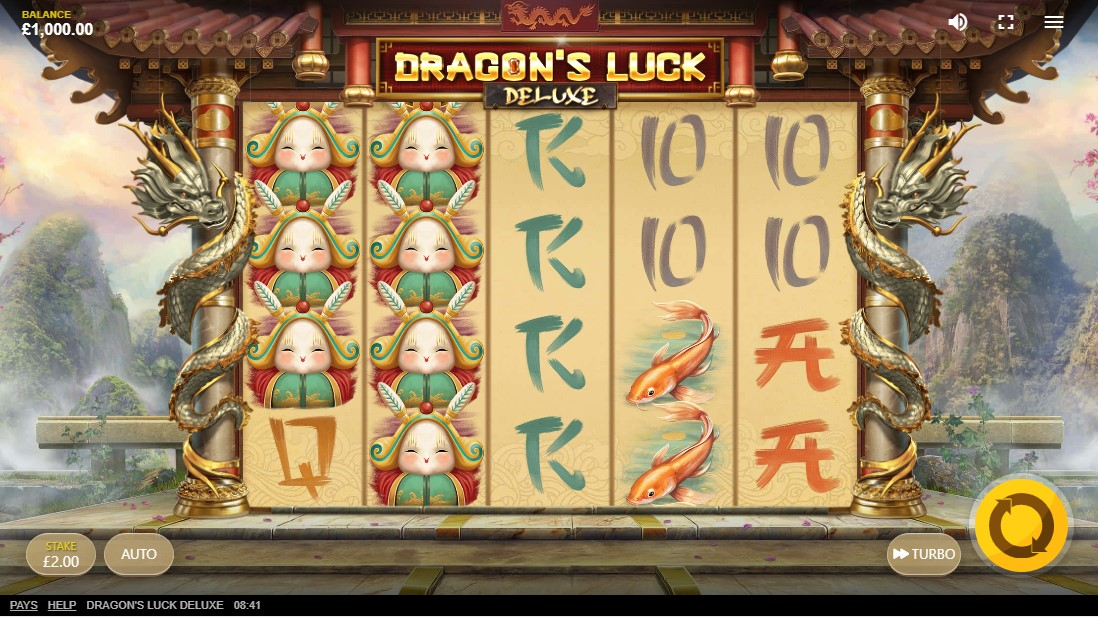 free slot Dragon's Luck Deluxe