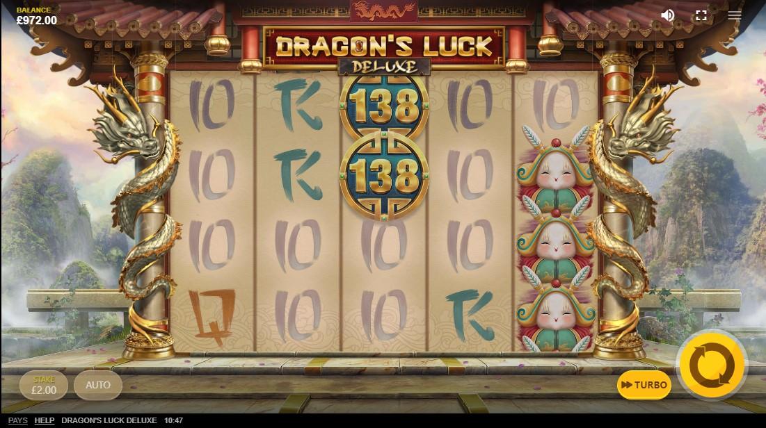 слот Dragon's Luck Deluxe играть