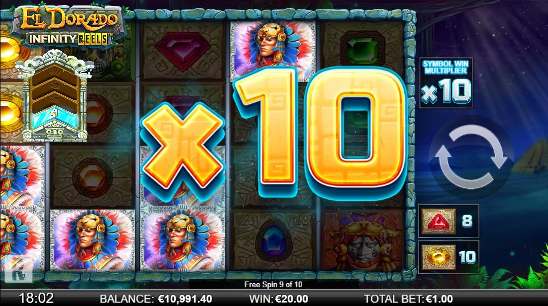 El Dorado Infinity Reels игровой автомат