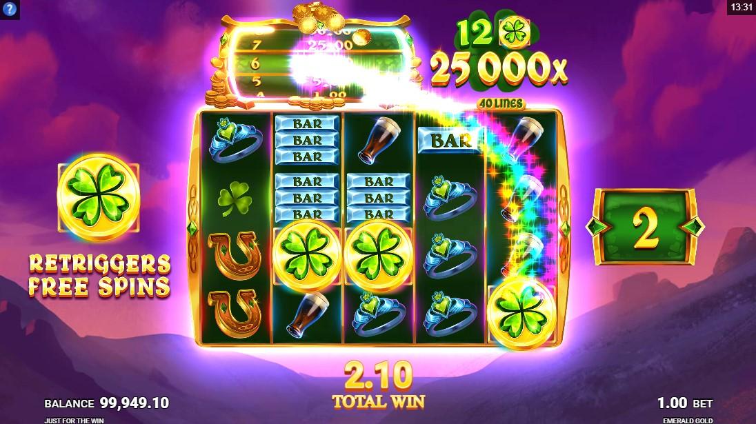 Emerald Gold игровой автомат
