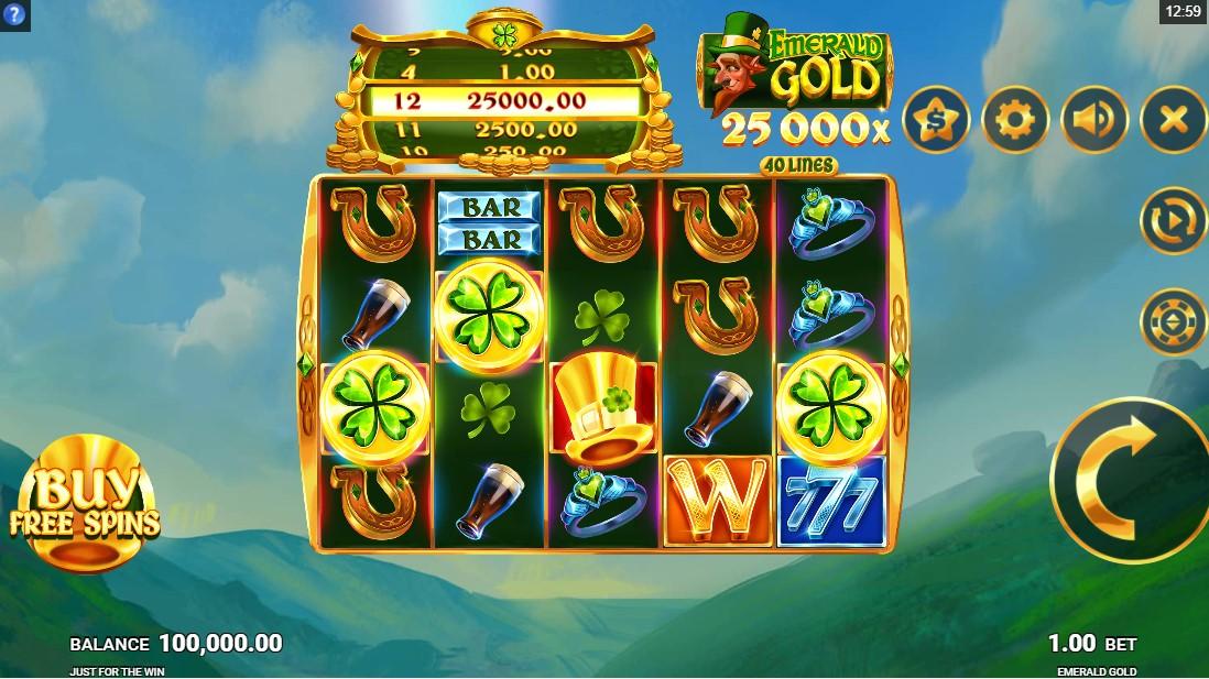 бесплатный слот Emerald Gold