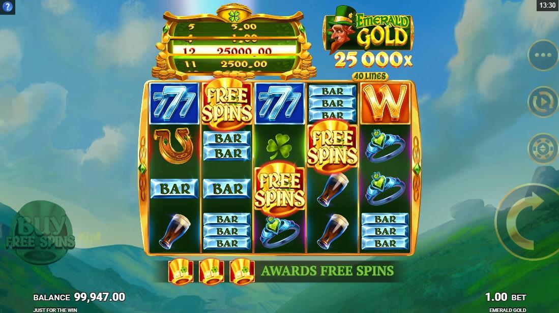 слот Emerald Gold играть бесплатно