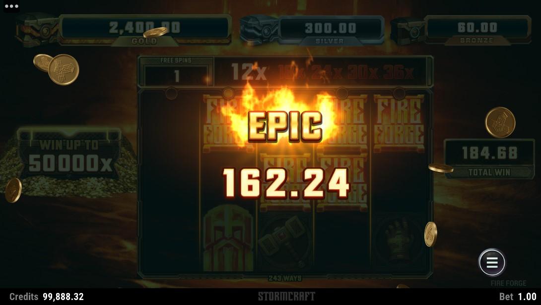 Fire Forge игровой автомат