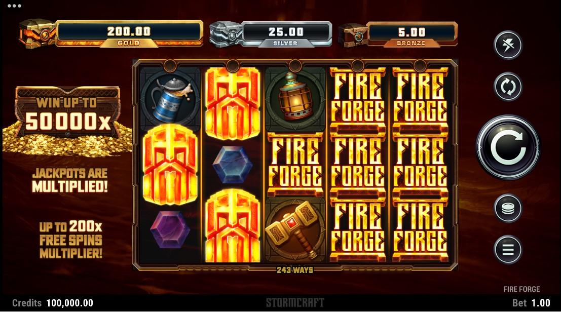 Fire Forge онлайн слот