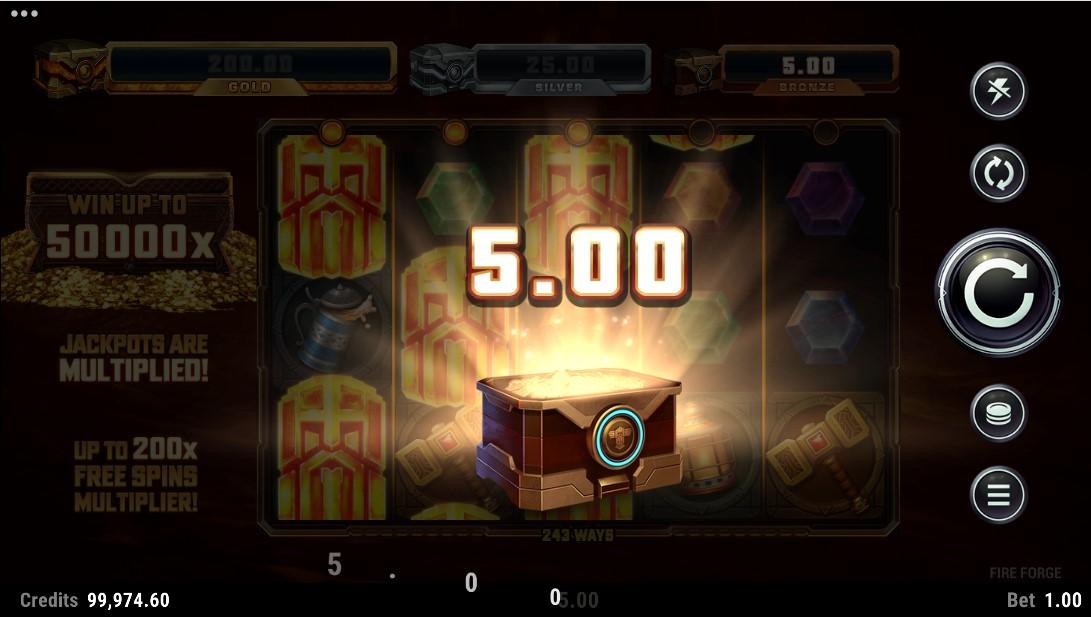 игровой автомат Fire Forge