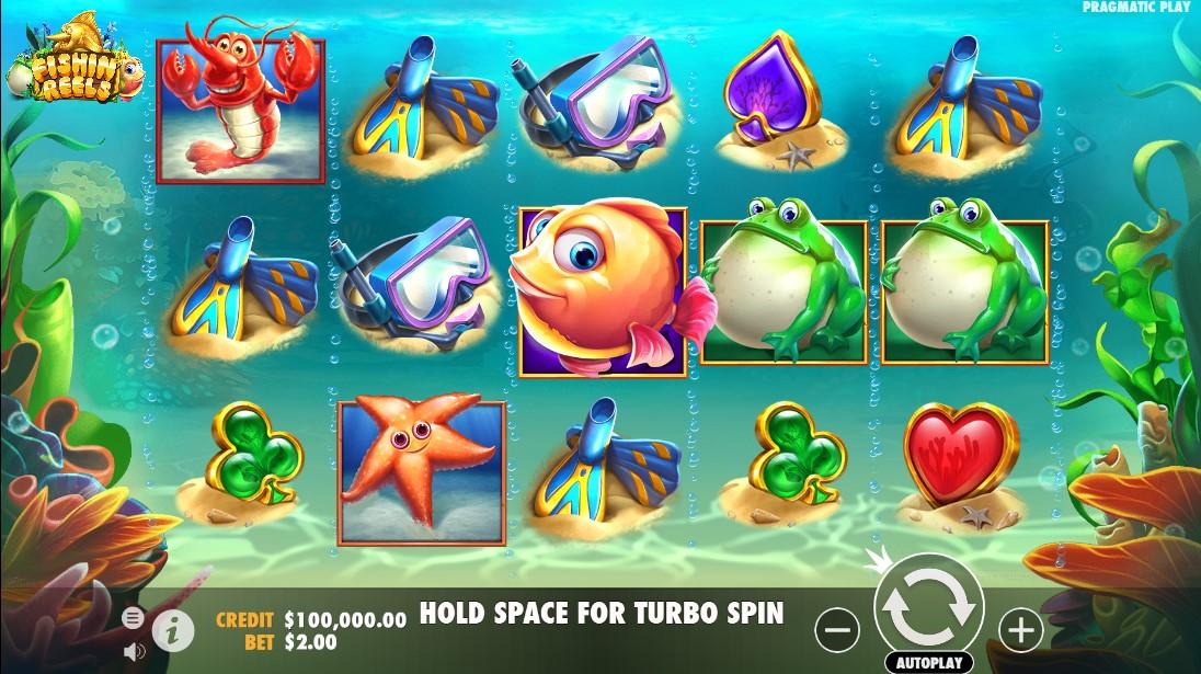 Fishin' Reels онлайн слот