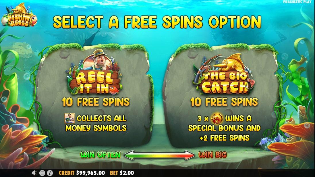 free slot Fishin' Reels