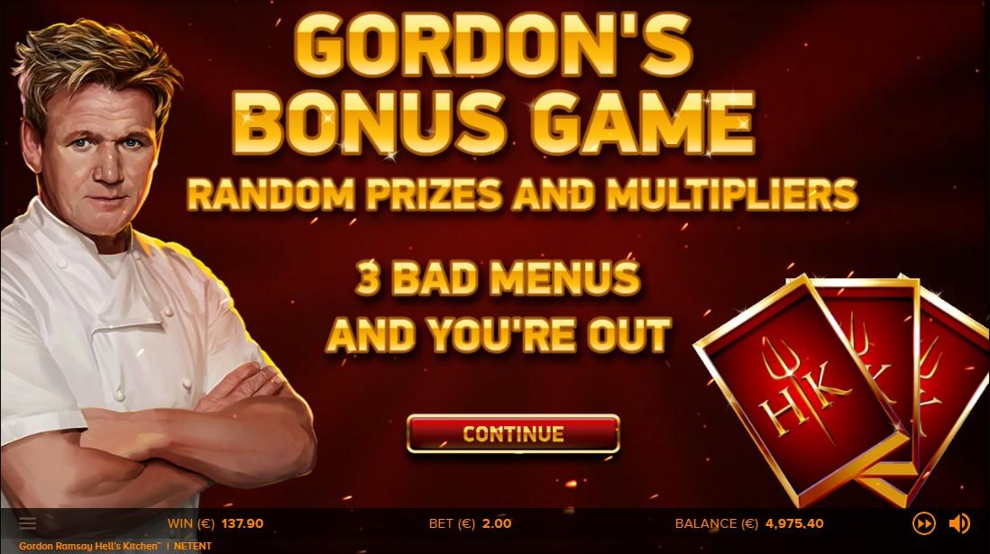 free slot Gordon Ramsay Hell's Kitchen