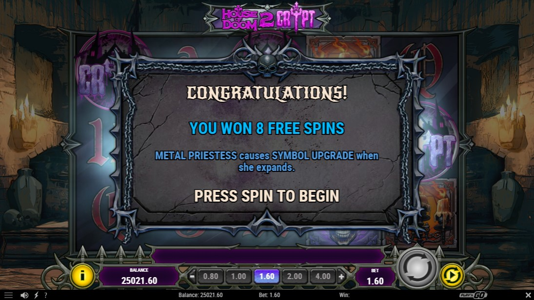 House of Doom 2 The Crypt онлайн слот