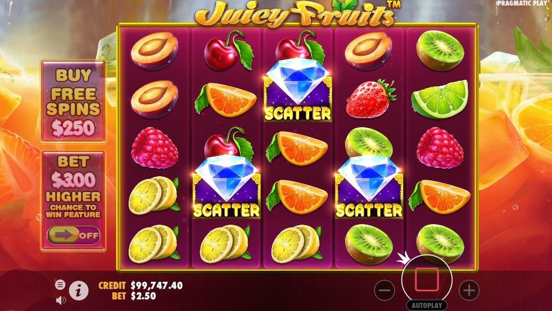 бесплатный слот Juicy Fruits