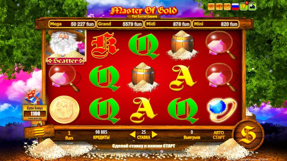 игровой автомат Master Of Gold