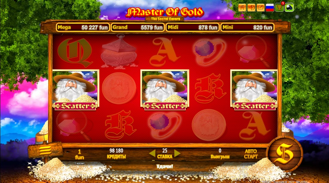 free slot Master Of Gold