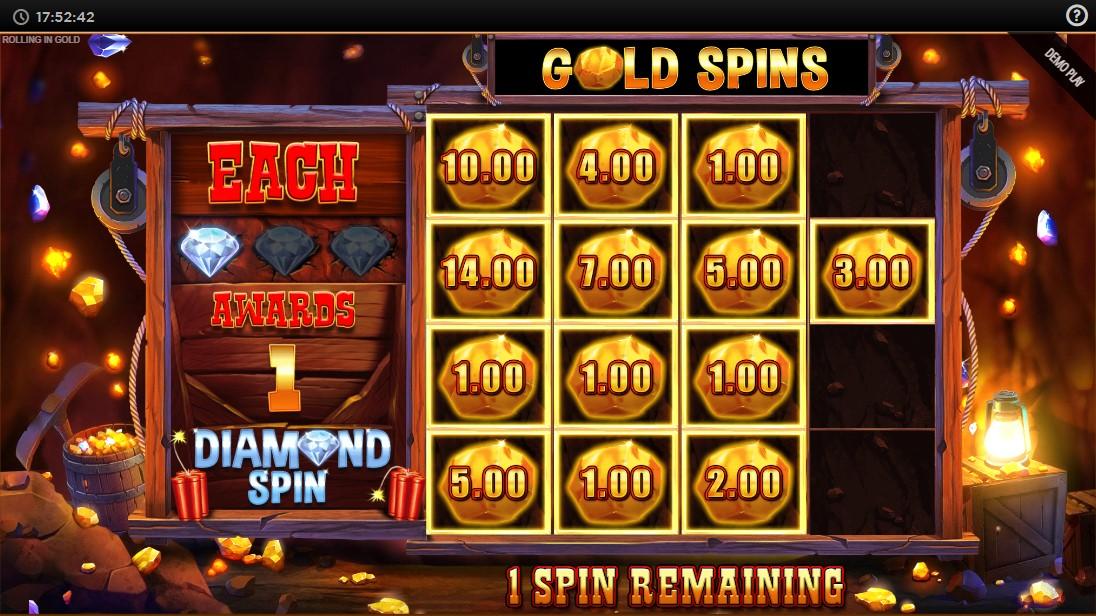 Rolling in Gold игровой автомат