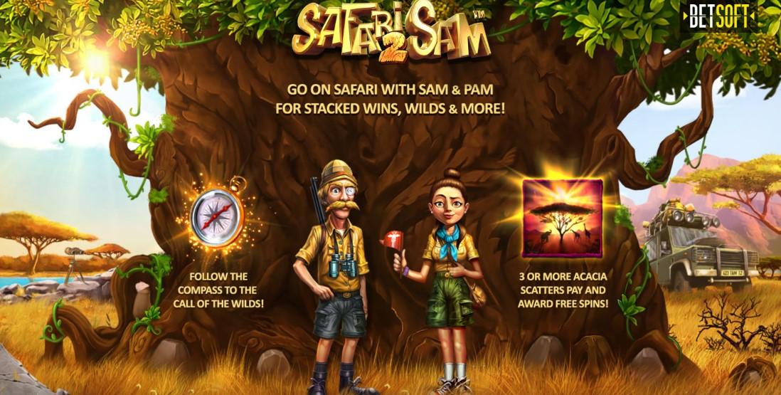 Играть Safari Sam 2 бесплатно