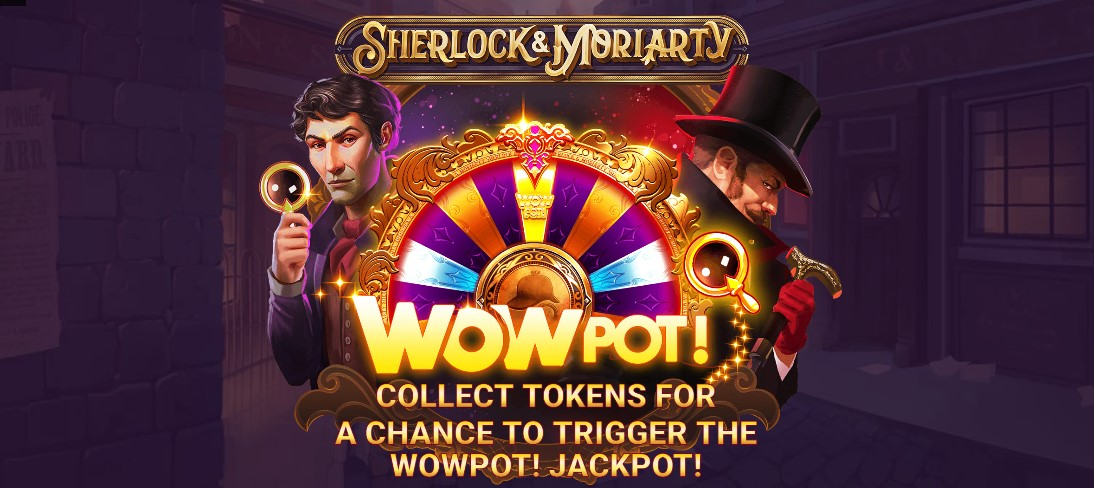 Играть Sherlock and Moriarty WowPot бесплатно