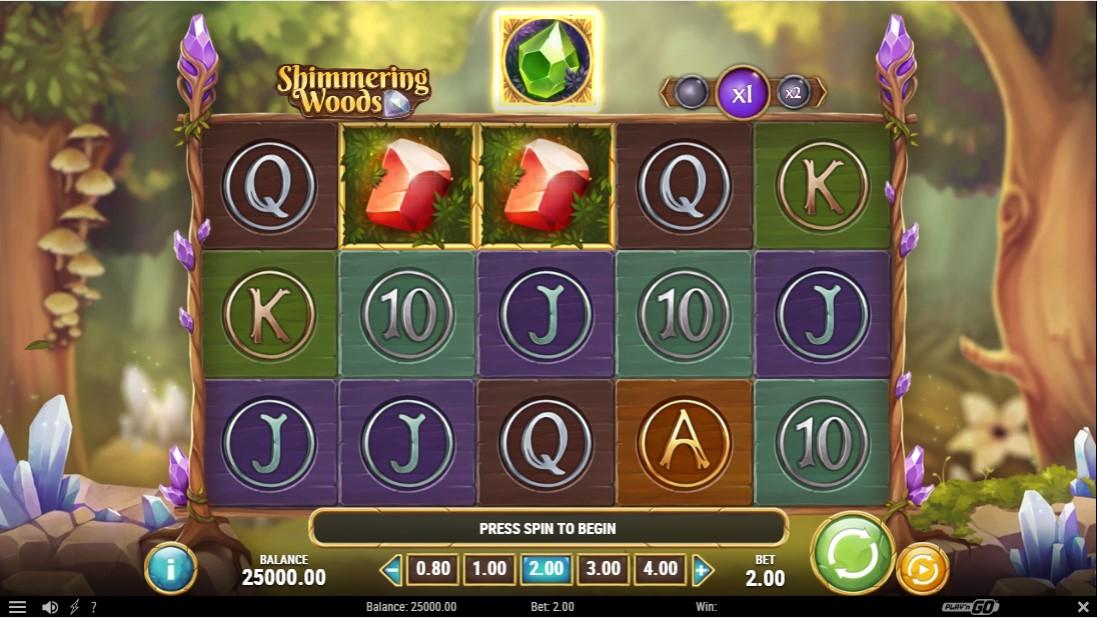 free slot Shimmering Woods
