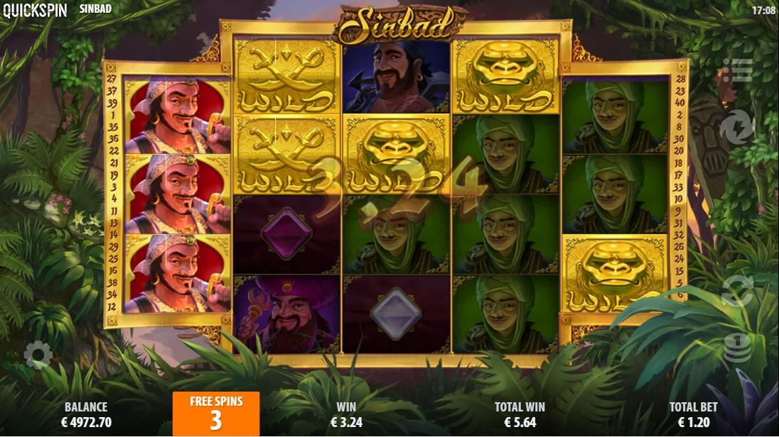 Sinbad игровой автомат