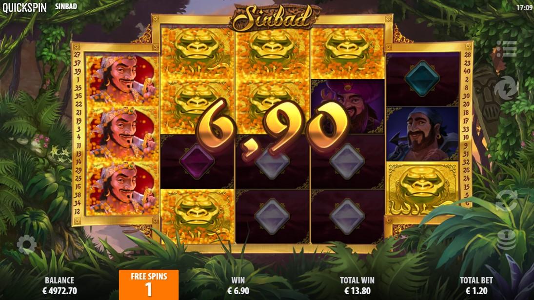 онлайн слот Sinbad