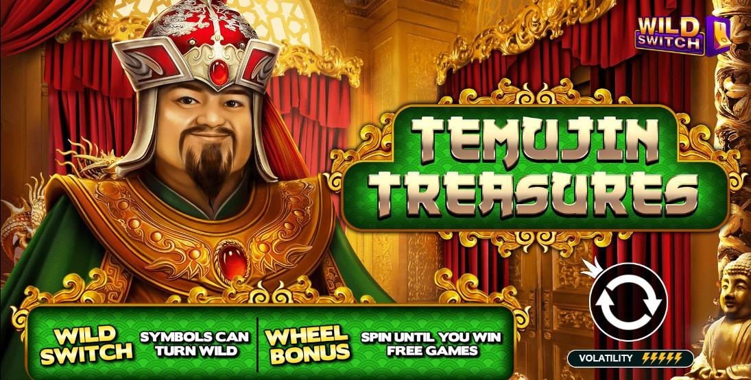 Играть Temujin Treasures бесплатно