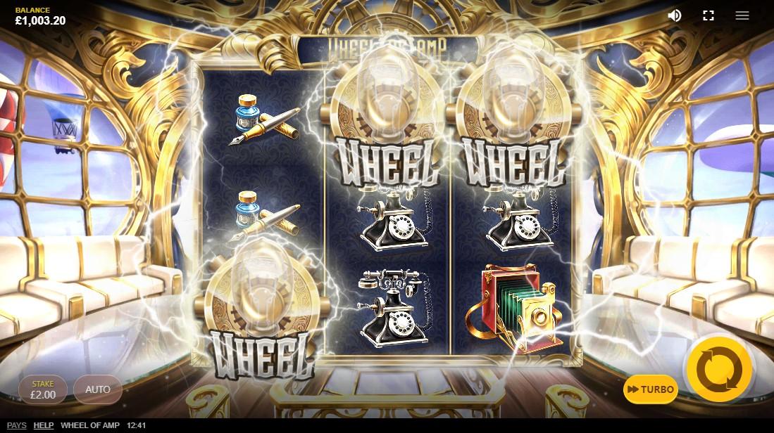 бесплатный слот Wheel Of Amp