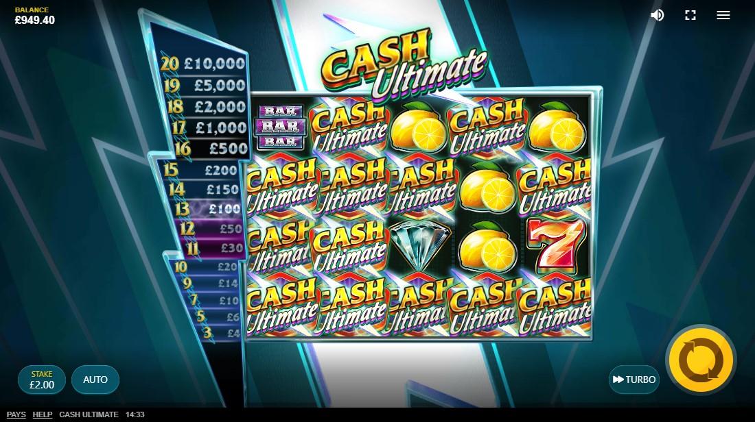 Cash Ultimate онлайн слот