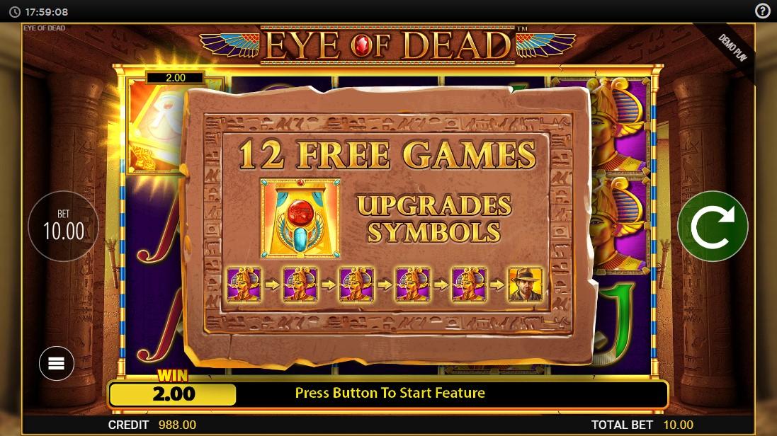Eye of Dead онлайн слот