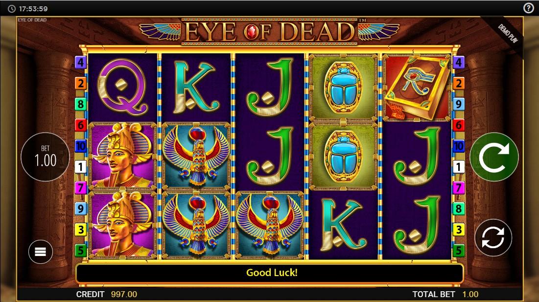 бесплатный слот Eye of Dead