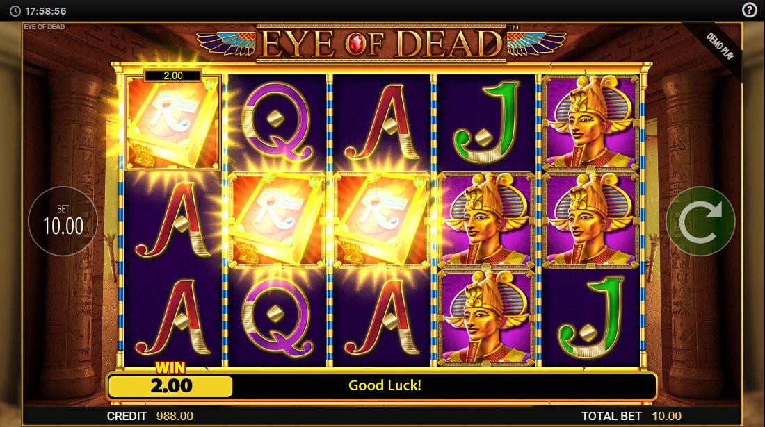 Слот Eye of Dead играть