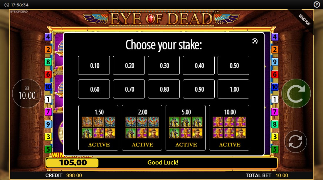 игровой автомат Eye of Dead