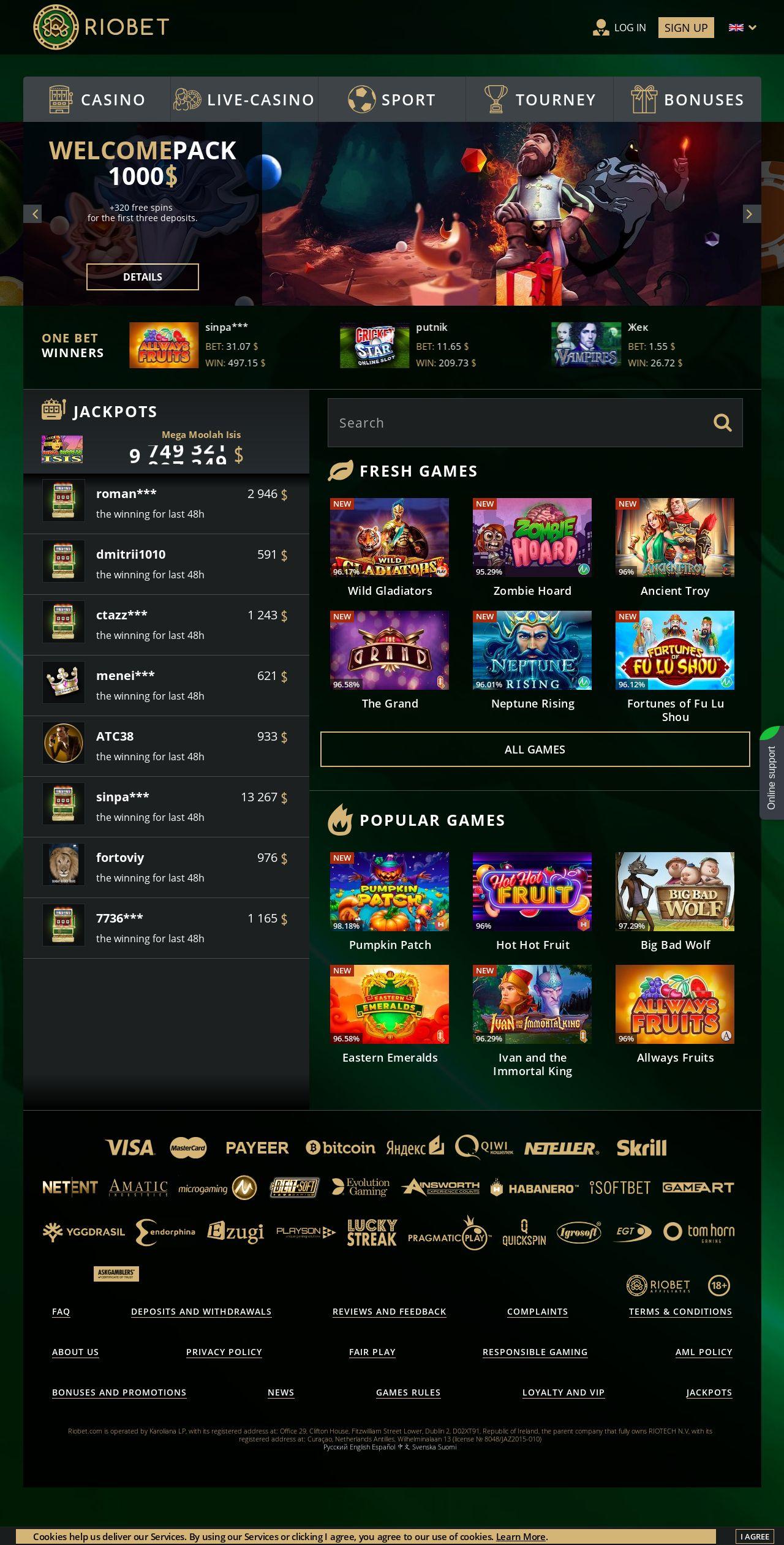 казино риобет отзывы игроков